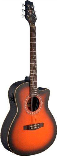 Stagg SA30ACE-BS, elektroakustická kytara - 3 roky záruka