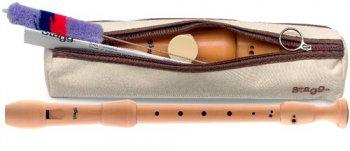 Stagg REC3-ALT GER/WD, dřevná zobcová flétna, altová, německý prstoklad - 3 roky záruka