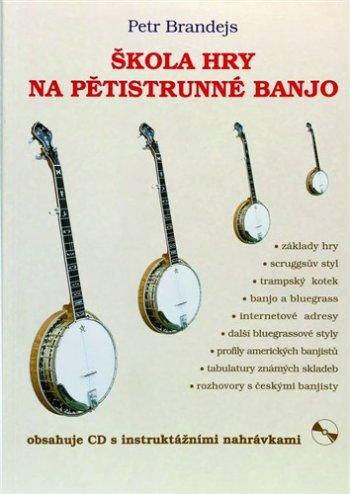 Škola na pětistrunné banjo + CD - 3 roky záruka, Ušetřete ihned 3% při registraci