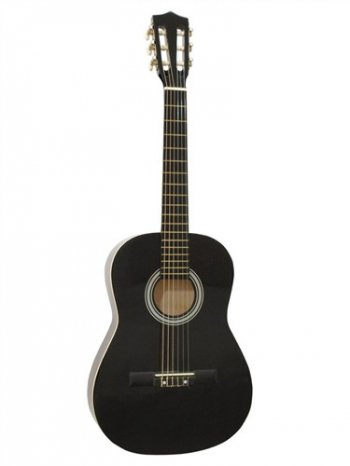 Dimavery AC-303 klasická kytara 3/4, černá - 3 roky záruka