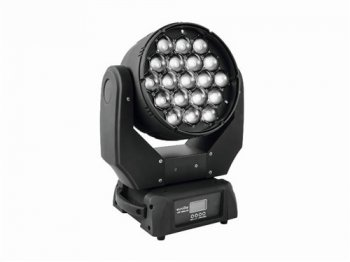 Eurolite LED TMH-X5 19x12W COB LED otočná hlava, zoom - 3 roky záruka