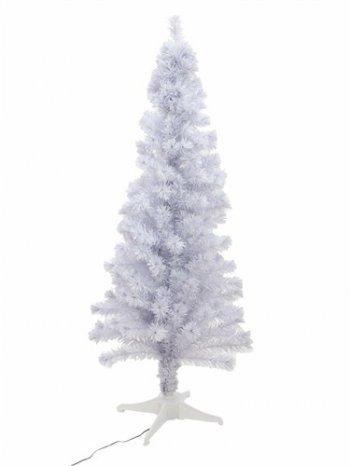 Vánoční stromek s optickými vlákny LED, 180 cm, bílý - 3 roky záruka, Ušetřete ihned 3% při registraci