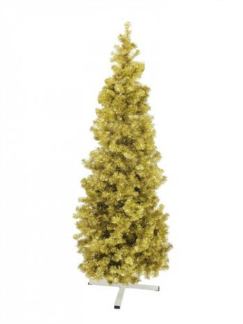 Jedle FUTURA, zlatá metalíza, 210 cm - 3 roky záruka