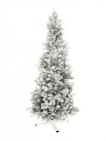 Jedle FUTURA, stříbrná metalíza, 210 cm - 3 roky záruka