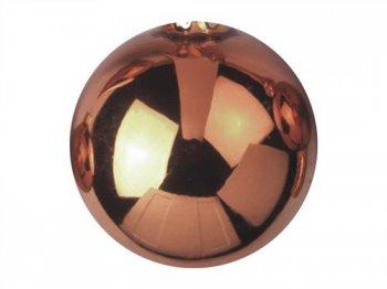 Vánoční dekorační ozdoby, 6 cm, měděné, lesklé, 6 ks - 3 roky záruka