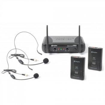 Skytec mikrofonní set VHF - 2x head set - 3 roky záruka