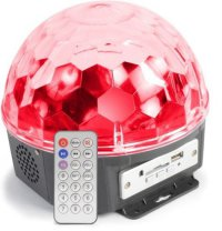BeamZ Max Magic Jelly DJ Ball 6x 1W LED SD/USB/MP3