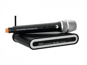 Omnitronic UHF-201 bezdrátový mikrofon - 3 roky záruka, Ušetřete ihned 3% při registraci