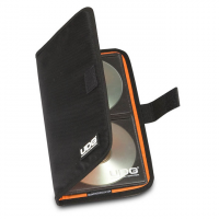 UDG Ultimate CD Wallet 24 Digital Black/Orange inside
