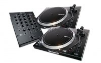 Numark DJ SET: 2x NTX1000 + M4 Black