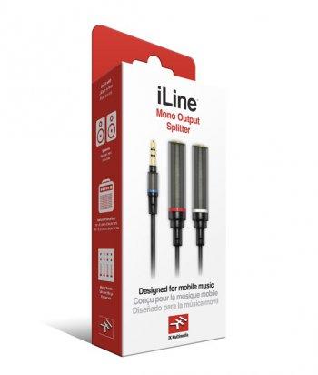 IK Multimedia iLine Mono Output Splitter - 3 roky záruka