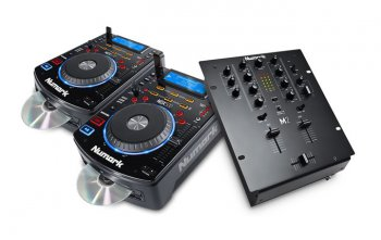 Numark DJ SET: 2x NDX500 + M2 Black - 3 roky záruka, Ušetřete ihned 6% při registraci