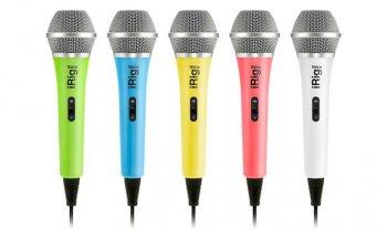 IK Multimedia iRig Voice - Blue version - 3 roky záruka, Ušetřete ihned 6% při registraci