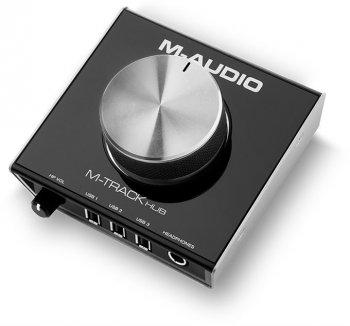 M-Audio M-Track Hub - 3 roky záruka