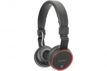 AV:link PBH-10 bezdrátová Bluetooth SD sluchátka černá - 3 roky záruka