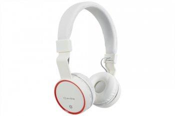 AV:link PBH-10 bezdrátová Bluetooth SD sluchátka bílá - 3 roky záruka