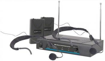 QTX VHF-HS2 bezdrátový mikrofon, 2 kanálový, 173,8 + 174,8 MHz - 3 roky záruka, Ušetřete ihned 3% při registraci