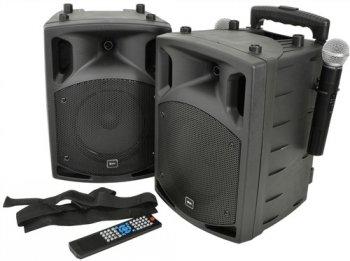 QTX PAV-8 přenosný zvukový systém 100W - 3 roky záruka