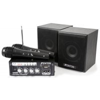 Fenton mini Karaoke Audio Set, MP3, FM, Bluetooth