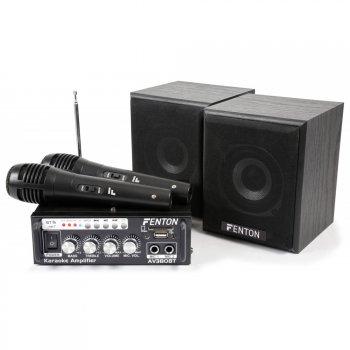 Fenton mini Karaoke Audio Set, MP3, FM, Bluetooth - 3 roky záruka