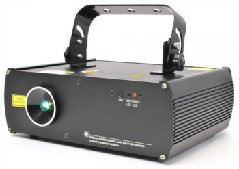BeamZ Star 3D laser 600mW, RGB, DMX - 3 roky záruka