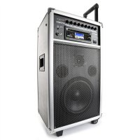 "Vonyx ST100 MK2 Portable Sound System 8"", BT/CD/MP3/UHF"