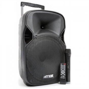 """Max P12 BT, 12"""" mobilní audio systém s dobíjecí baterií - 3 roky záruka"""