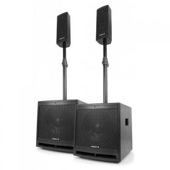 Vonyx Clubber Set 1000W, MP3, Bluetooth - 3 roky záruka