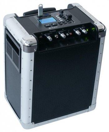 Skytec PA-200, aktivní zvukový systém pro USB/SD - 3 roky záruka