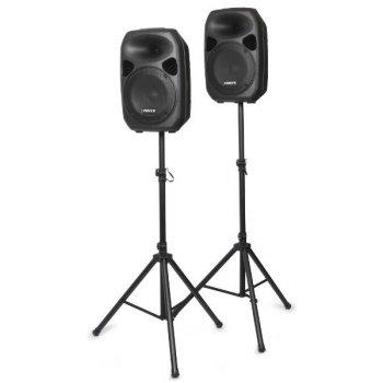 """Skytec Party Speaker Set, 2x 12"""", 2x stojan - 3 roky záruka"""