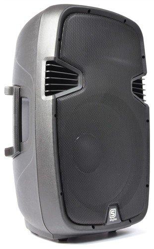 """Skytec SPJ-15, aktivní 15"""" reprobox MP3-SD-USB-Bluetooth 400W - 3 roky záruka"""