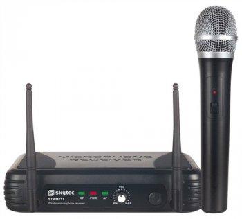 Skytec mikrofonní set VHF, 1 kanálový - 3 roky záruka, Ušetřete ihned 3% při registraci