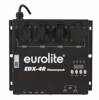 Eurolite EDX-4R DMX RDM - 3 roky záruka, Ušetřete ihned 3% při registraci