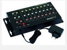 EUROLITE AVS-802, Video switch 8in2 - 3 roky záruka, Ušetřete ihned 3% při registraci