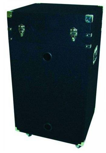 Case komb. černý koberec s kolečky, 16 HE - 3 roky záruka