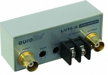 Eurolite LVH-4 video zesilovač - 3 roky záruka, Ušetřete ihned 3% při registraci