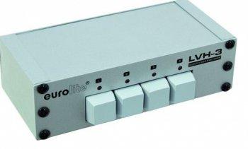 Eurolite LVH-3 AV přepínač - 3 roky záruka, Ušetřete ihned 4% při registraci