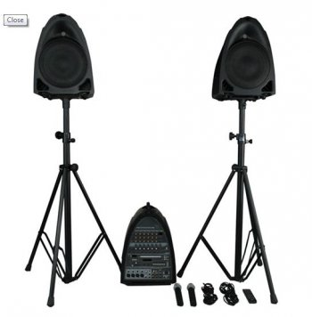 DAP Audio Entertainer Set Active - 3 roky záruka