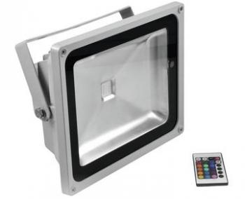 Eurolite LED IP FL-50 COB RGB 120° s dálkovým ovladačem - 3 roky záruka