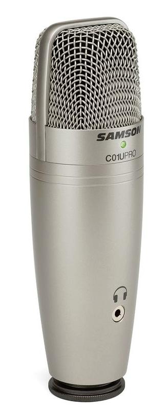 Samson C01U PRO - kondenzátorový mikrofon USB - 3 roky záruka