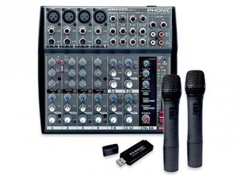 Phonic AM440D USB-K-2 - 3 roky záruka